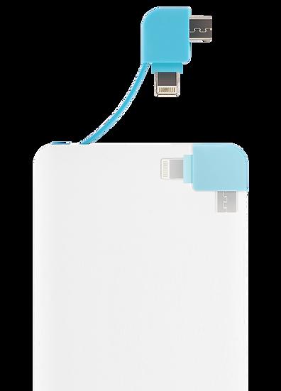 SM-CB - Power bank carte bancaire ultra slim câble intégré