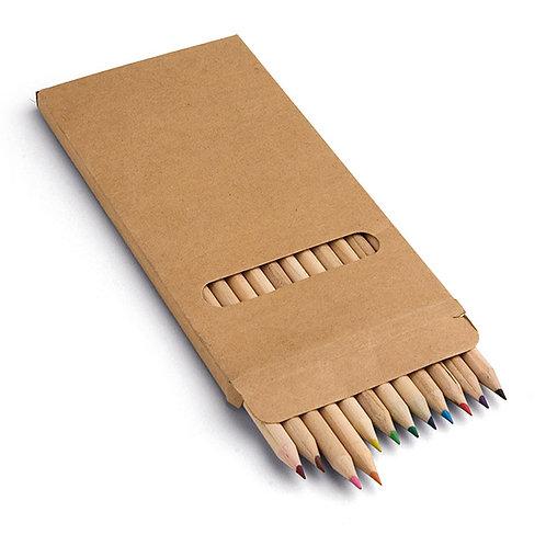 Boîte de 12 crayon de couleurs