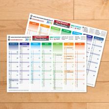 Impression de calendriers pour une entreprise de transports de l'Oise
