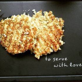 Cauliflower Hash Browns GF, Low Cal Serves 2