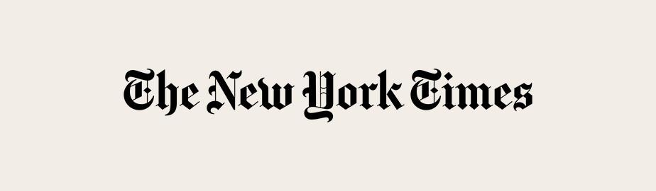 New York Times typography logo example