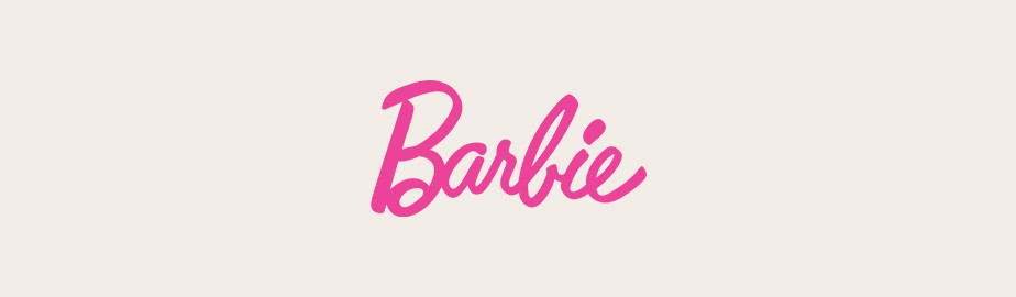 Barbie typography logo