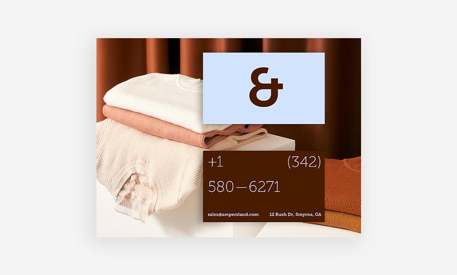Wix business card maker