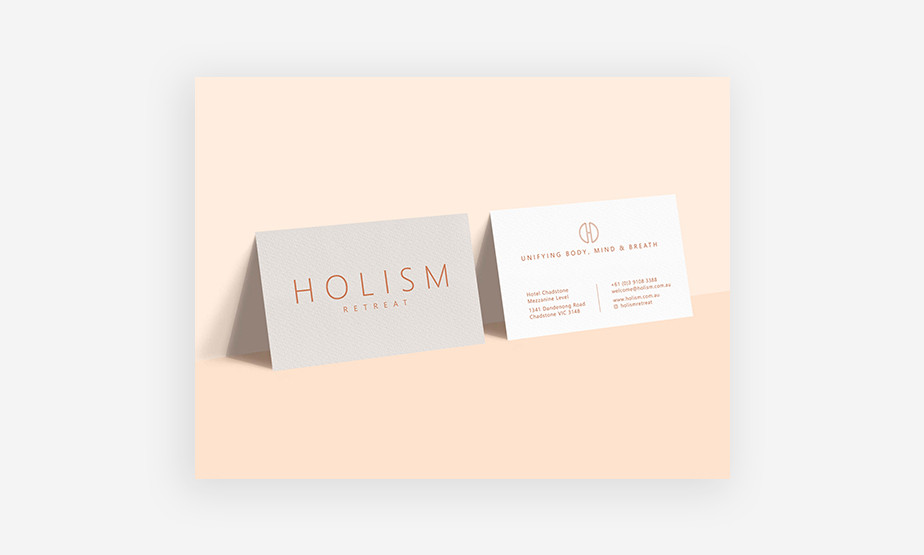 example of a unique business card
