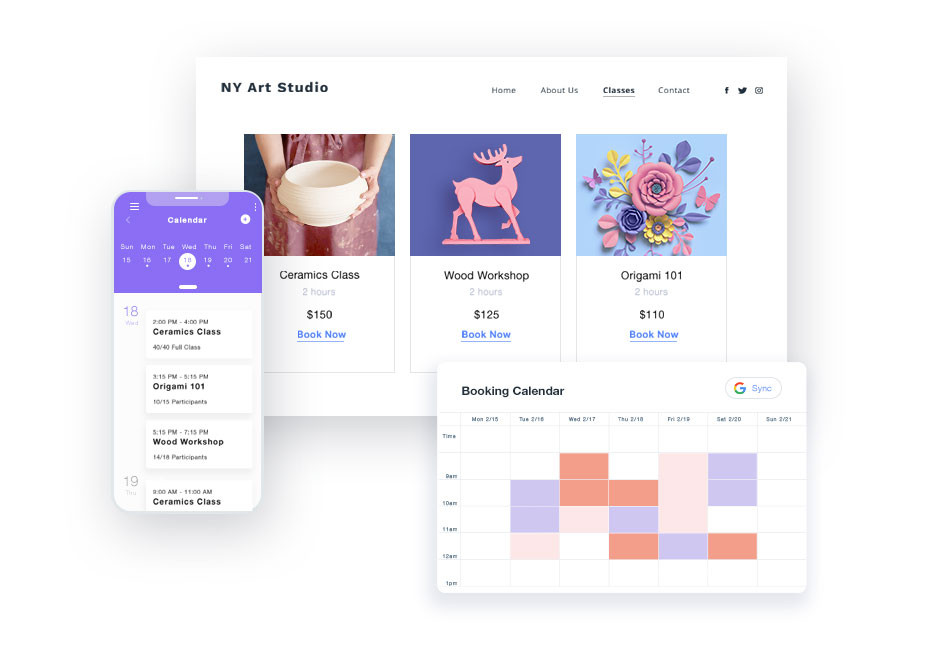 Wix Bookings new features