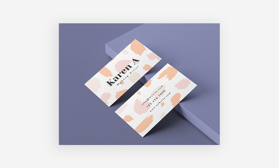 abstract business card idea