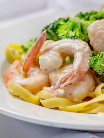Papa Pilo's Pizza_Shrimp Broccoli Alfred