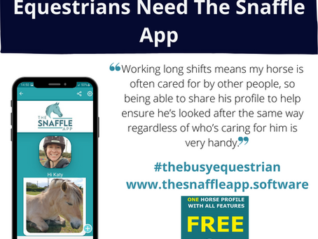 Three Reasons Why Equestrians Need The Snaffle App