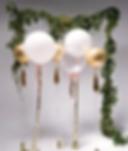 Bespoke balloon Adelaide with bows. Balloons Adelaide. Wedding balloons Adelaide