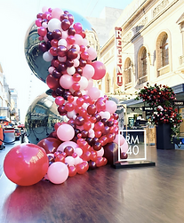 Bespoke balloons Adelaide. Balloon Istallation Adelaide. Balloon Installations. Balloon Garland.
