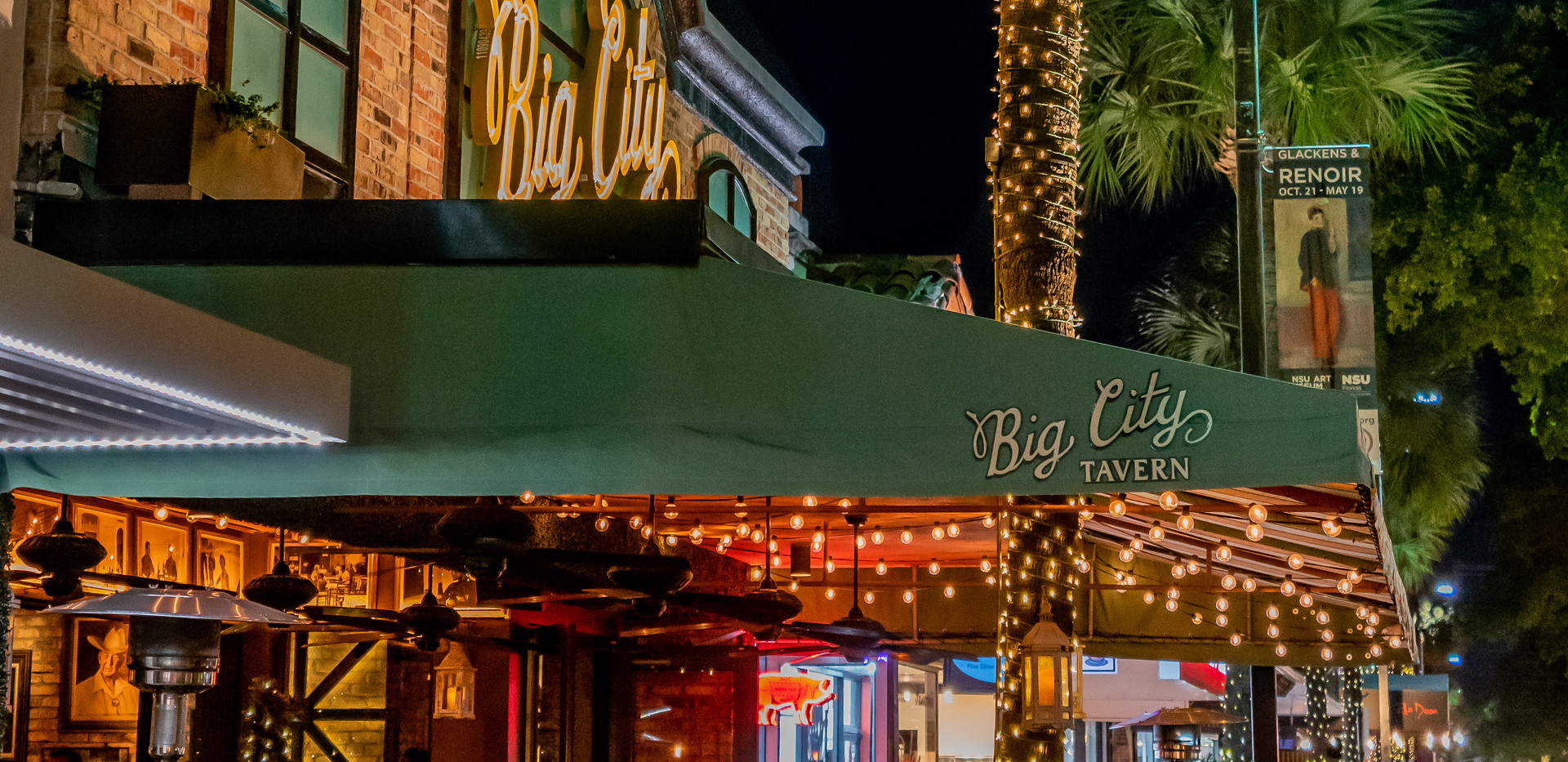 Big City Dinner on Las Olas