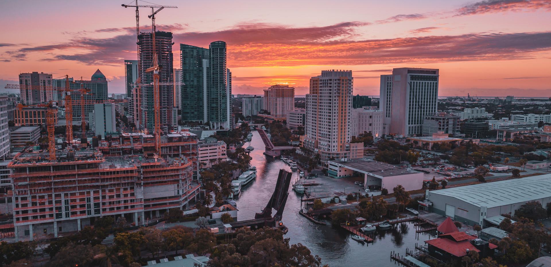 New River at Sunrise