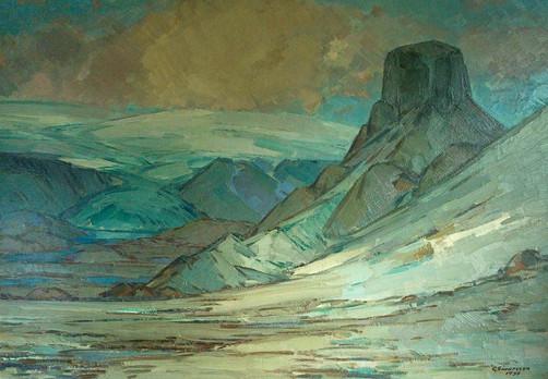Loðmundur, Kerlingarfjöll 1938 S Mt. Loðmundur S 1938