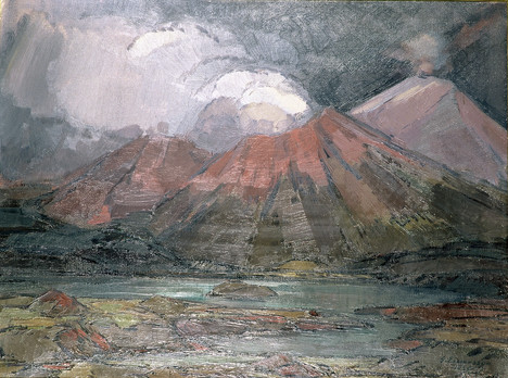 Rauðir gígar 1933 MH - Red craters 1933 MH