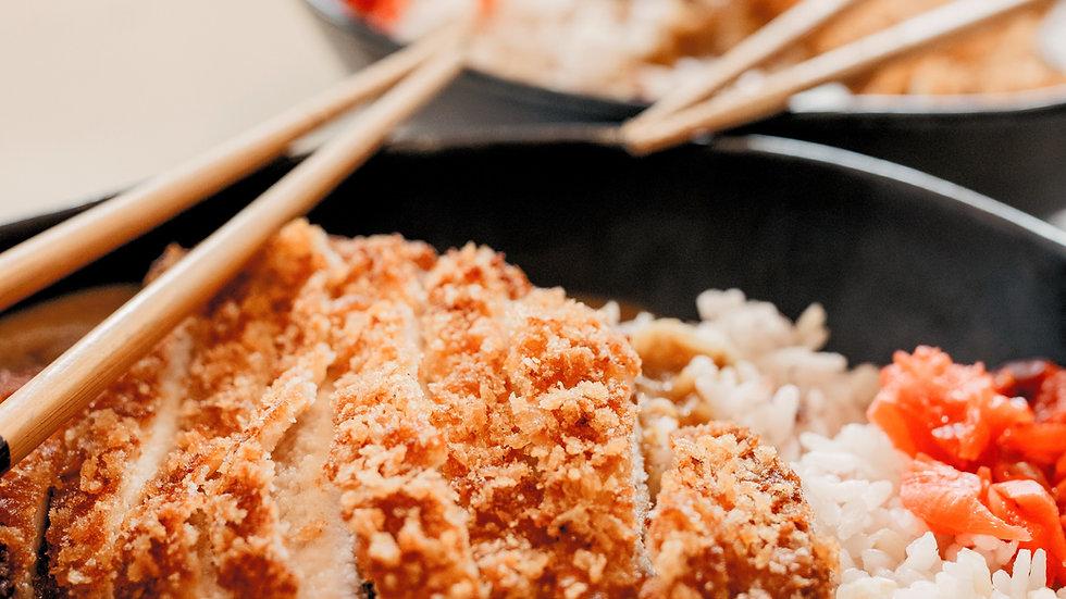 Pork Cutlet Katsu Curry!