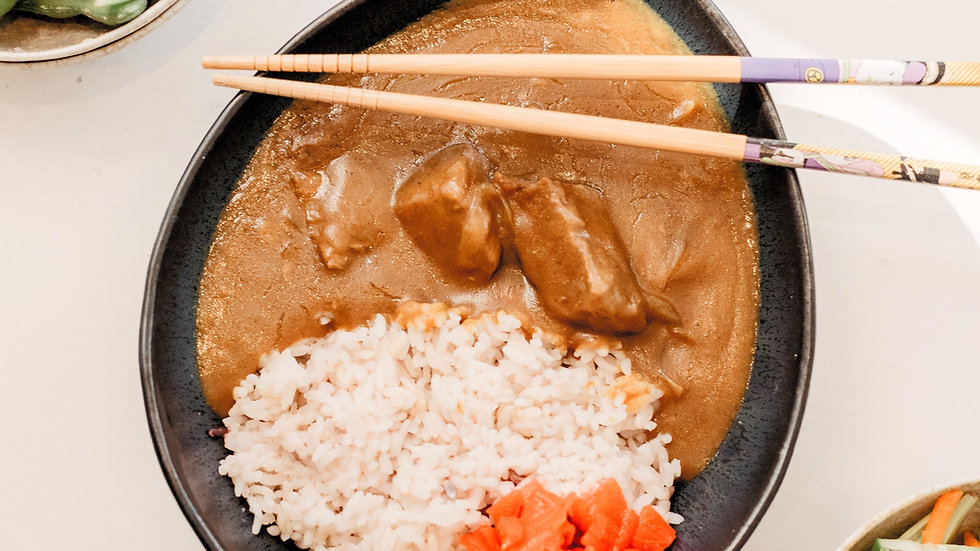 Slow cooked Japanese beef curry!