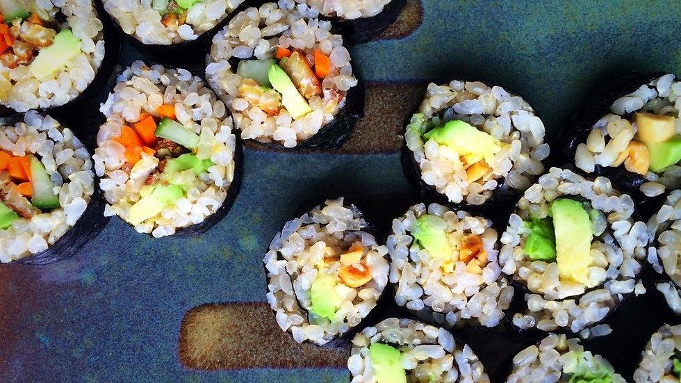 Fresh daily - Hand rolled nori rolls