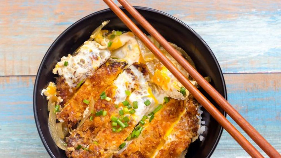 Chicken Katsudon Dinner