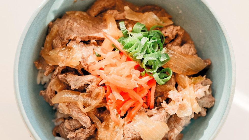 Gyudon (牛丼) (Beef Bowl)