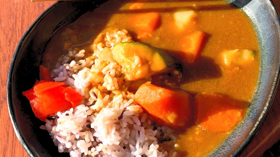 Vegetarian Curry Dinner