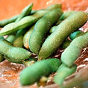 Edamame (Min of 4 serves) Serving size is approx a cup.