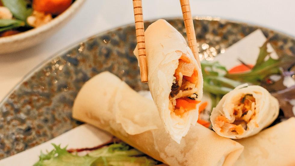 Harumaki spring rolls - 4 pcs Dinner