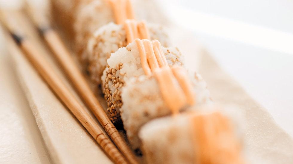 Sushi roll packs - Spicy prawn /Chicken Katsu/Salmon & tuna/ Avo
