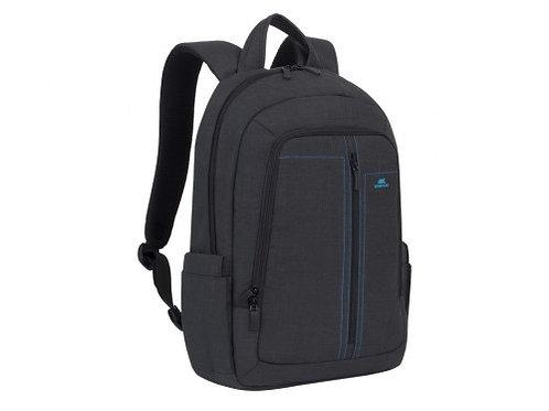 "16""/15"" NB backpack - RivaCase 7560 Canvas Black Laptop"