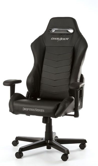 Performance Chairs DXRacer - Drifting GC-D166-N-M3, Black/Black/Black