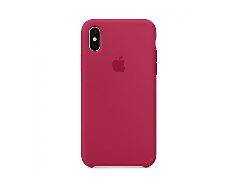 Silicone case for iPhone XR Pink