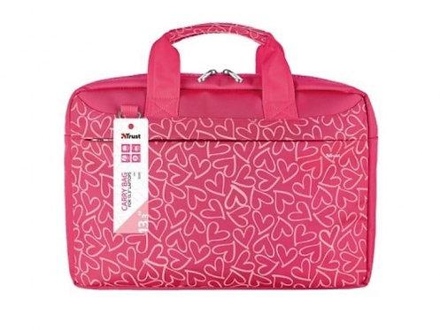 "13.3"" NB bag - Trust Bari Pink, laptop size up to 345 x 240 mm"