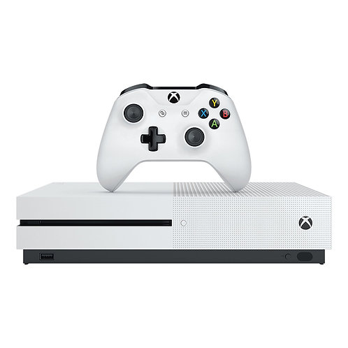 Microsoft Xbox One S 1TB White, 1 x Gamepad