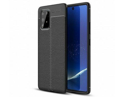 Xcover husa p/u Samsung S10 Lite/A91, Leather Black