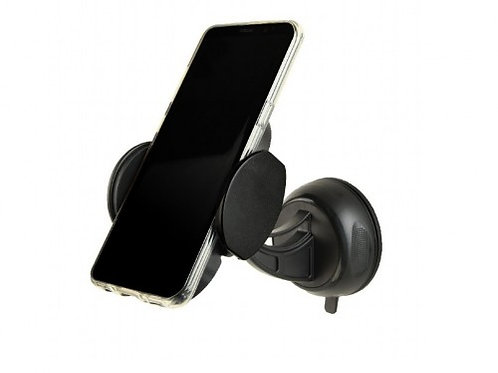 Universal Smartphone Car Holder with detachable fast wireless QI charger