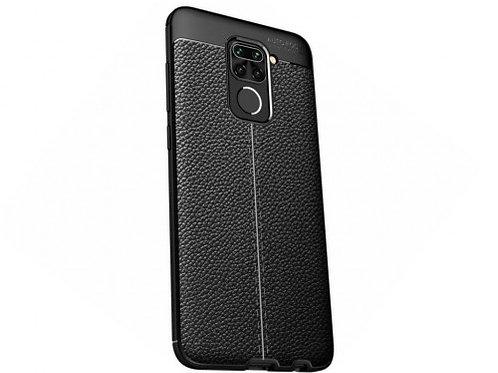 Xcover husa p/u Xiaomi RedMi Note 9, Leather, Black