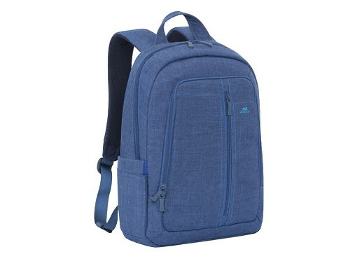 "16""/15"" NB backpack - RivaCase 7560 Canvas Blue Laptop"