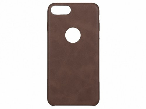 Vintage stone pattern phone case for iPhone 7+ Brown