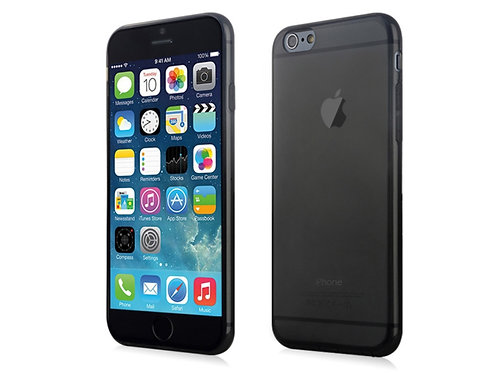 Plastic material slim soft cover case iPhone 7 Black