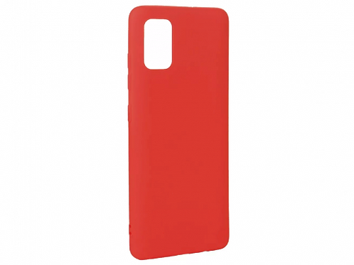 Xcover husa p/u Samsung A51, Soft Touch Red
