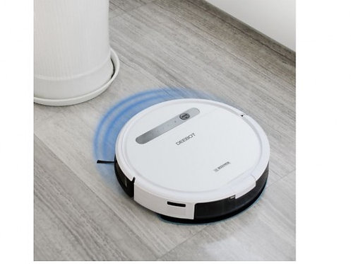 ECOVACS Robot Vacuum Cleaning OZMO 610, Mopping with OZMO System, Smart Cleaning