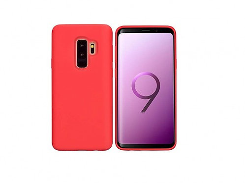 Silicone case for Samsung S9 Red