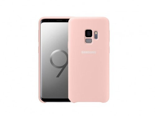 Silicone case for Samsung S9 Pink