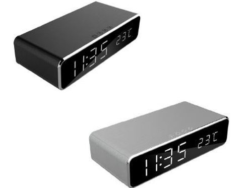 Gembird DAC-WPC-01 Digital alarm Clock with Wireless charging function