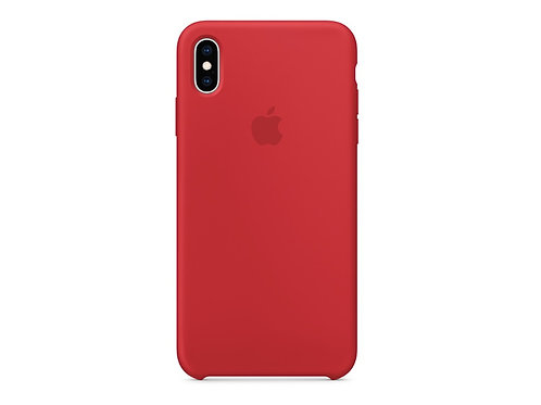 Silicone case for iPhone XS Red