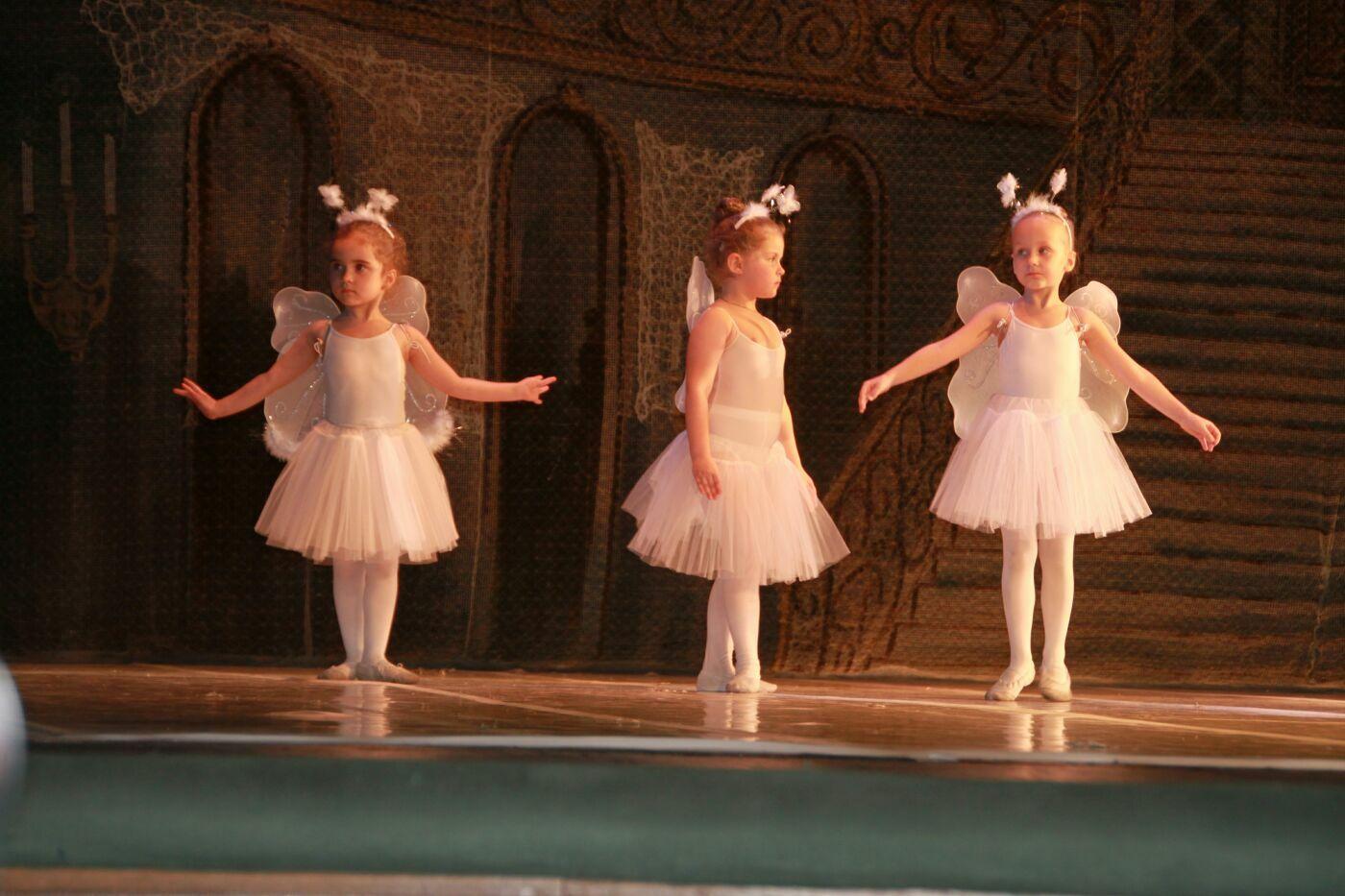 Участники балетного представления