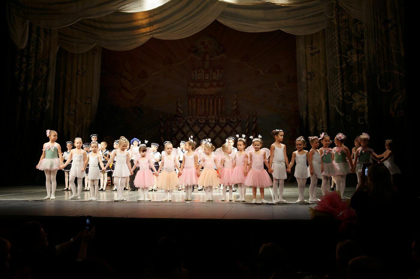 Участники балетного спектакля