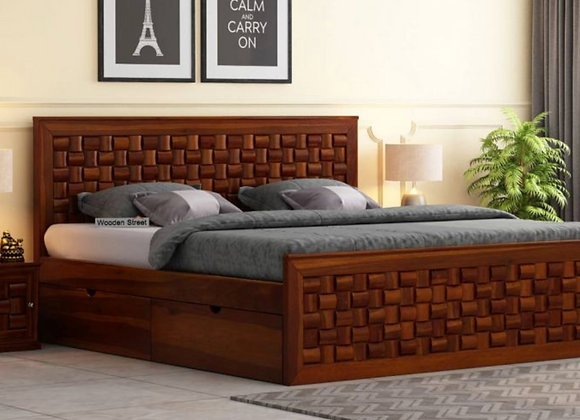 Howler Bed With Side Storage