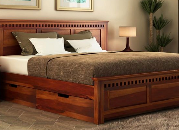 Adolph Bed With Side Storage