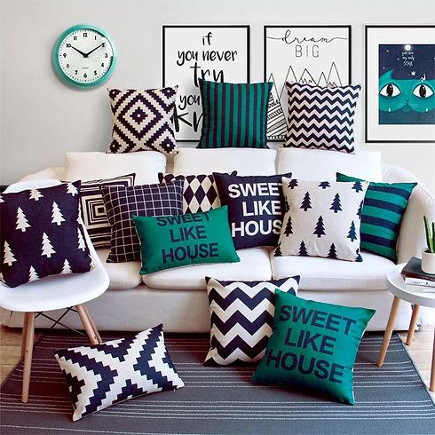 14+ Fascinating Decorative Pillows Silve