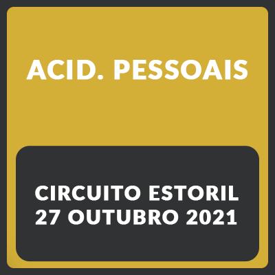 Acidentes pessoais - Estoril - 27 de Outubro
